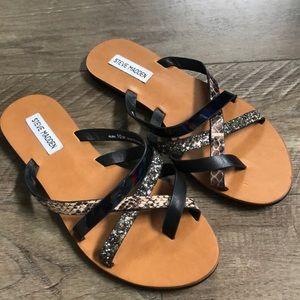 Steve Madden Albin Sandals size 10 never worn
